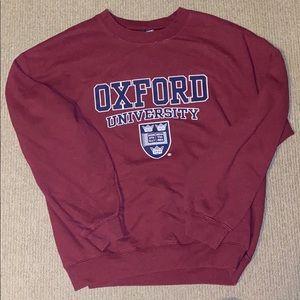 Oxford  University sweatshirt